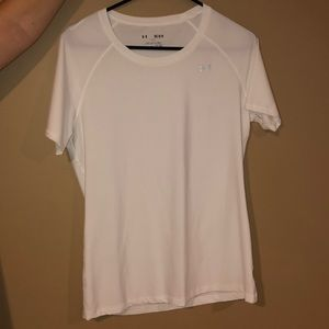 White Under Armour T-Shirt